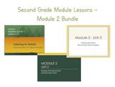 2nd Grade Module Lessons - EL Education - Module 2 Bundle