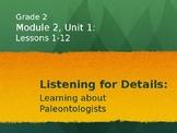 2nd Grade Module Lessons - EL Education - Module 2, Unit 1