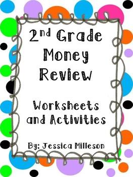 2nd Grade Money Review-Worksheets & Activities