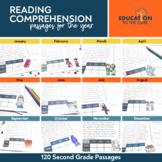 Monthly Fluency Passages 2nd Grade, 2nd Grade Fluency
