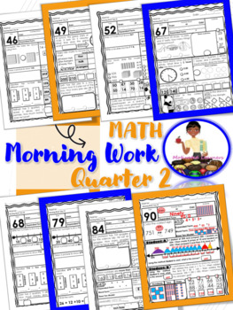 2nd Grade Morning Math 2nd Qtr (October, November, December)