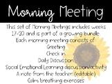 2nd Grade Morning Meeting Slides (Weeks 17-20)