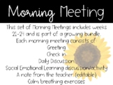 2nd Grade Morning Meeting Slides (Weeks 21-24)