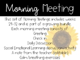 2nd Grade Morning Meeting Slides (Weeks 29-32)