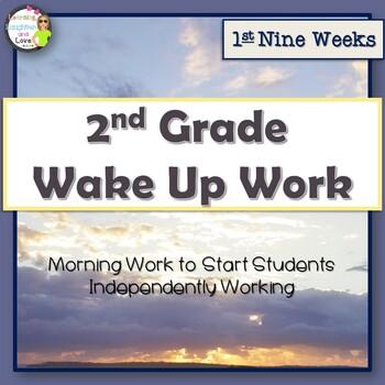 2nd Grade Morning Work- 1st Nine Weeks