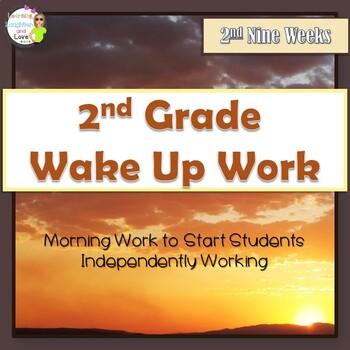 2nd Grade Morning Work- 2nd Nine Weeks