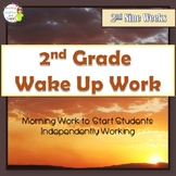 2nd Grade Morning Work- 2nd Nine Weeks