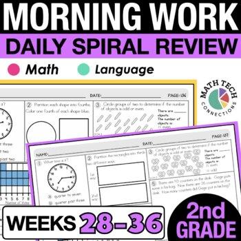 2nd Grade Morning Work - 4th 9 weeks