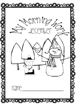 2nd Grade Morning Work - December