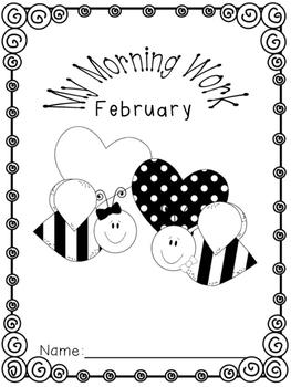 2nd Grade Morning Work - February