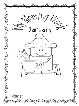 2nd Grade Morning Work - January