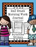 2nd Grade Morning Work Journal Full Year Set [40 weeks!]
