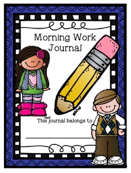 2nd Grade Morning Work Journal Set 4 [fourth 10 weeks]