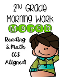 2nd Grade Morning Work - March