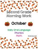 2nd Grade Morning Work *October*
