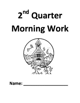 2nd Grade Morning Work Packet