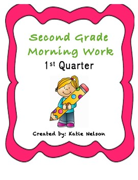 2nd Grade Morning Work Questar and Standardized Test Practice