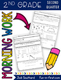 2nd Grade Morning Work - Second Quarter