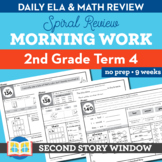 2nd Grade Morning Work Term 4 • Spiral Review Distance Lea