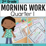 Second Grade Morning Work- 1st Quarter