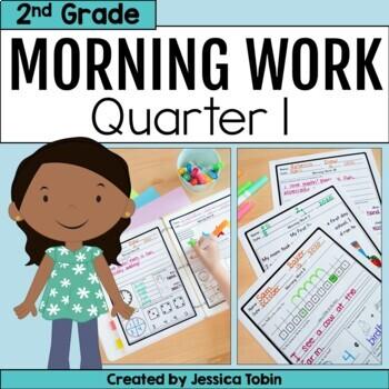 Second Grade Morning Work- 1st Quarter