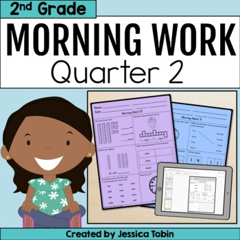 Second Grade Morning Work 2nd Quarter