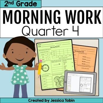 Second Grade Morning Work- 4th Quarter