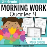 Second Grade Morning Work- 4th Quarter