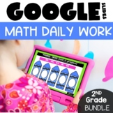 Daily Math 2nd Grade Morning Work for Google™ Classroom GR