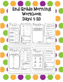 2nd Grade Morning Workbook 1-20
