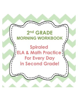 2nd Grade Morning Work Workbook
