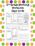 2nd Grade Morning Workbook 21 - 40