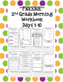 2nd Grade Morning Workbook Freebie **Common Core Aligned**
