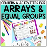 2nd Grade Multiplication Array Centers for 2.OA.4