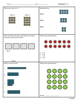 2nd Grade Multiplication