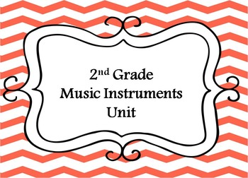 2nd Grade Music Instrument Unit