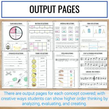 2nd Grade Interactive Music Notebook