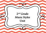 2nd Grade Music Styles Unit