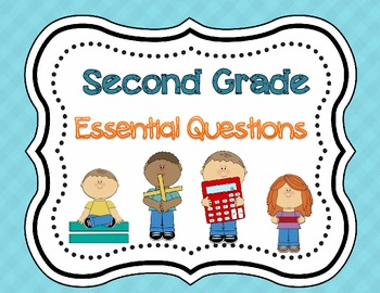 2nd Grade My Math Essential Questions