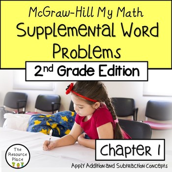 2nd Grade My Math Supplemental Word Problems - Chapter 1