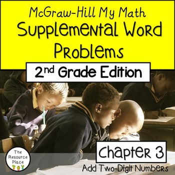 2nd Grade My Math Supplemental Word Problems -Chapter 3