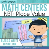 2nd Grade Math Centers- Numbers and Operations in Base Ten NBT, Place Value