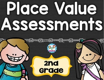 Place Value Tests 2nd Grade