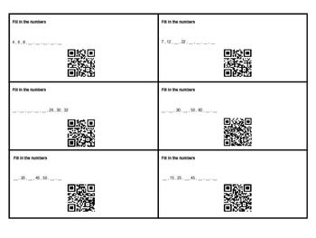 2nd Grade 2.NBT.2 With QR Codes