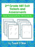 2nd Grade NBT Exit Tickets and Assessments