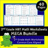 2nd Grade NBT Worksheets: 2nd Grade Math Worksheets, Numbers in Base Ten