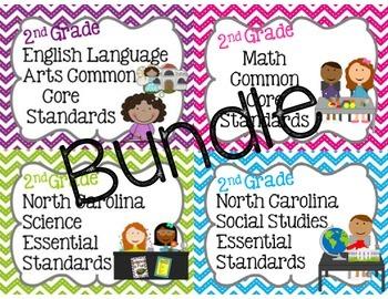 2nd Grade NC Standards Bundle