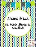 2nd Grade NCSCOS Math Checklists for 2018-2019