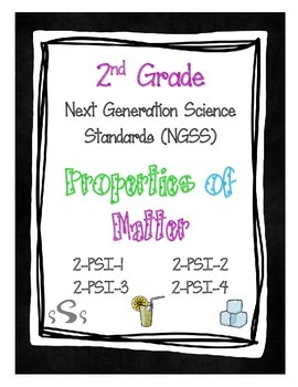 2nd Grade NGSS - Bundle of all standards!!