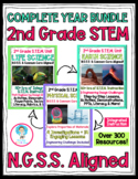 2nd Grade NGSS COMPLETE YEAR Bundle!! Earth, Life & Physical Science!!